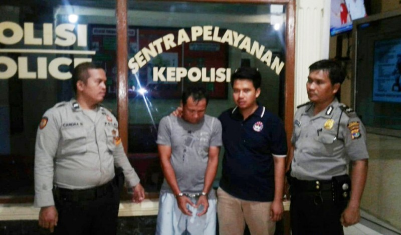Bobol Toko, Penjaga Malam Pasar Unit II Dibekuk Polisi