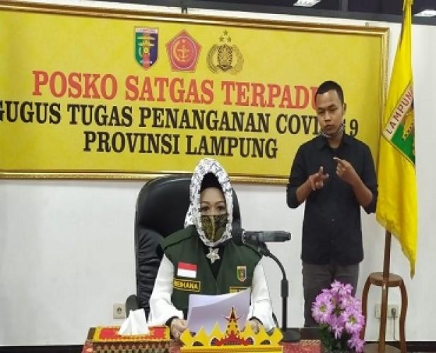 Bocah 2 Tahun Warga Bandar Lampung Tertular Covid-19 dari Ibunya