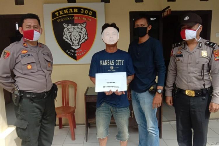 Bogel Ditangkap Usai Jadi Buronan Polsek Gadingrejo