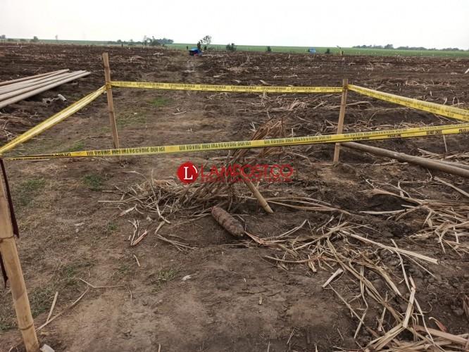 Bom Peninggalan Zaman Penjajahan Ditemukan di Perkebunan Tebu