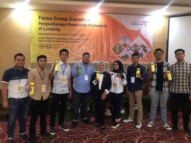 Boyong Kegiatan FGD Kemenparekraf RI, Dwita Ria Dukung Ada KEK di Lampung