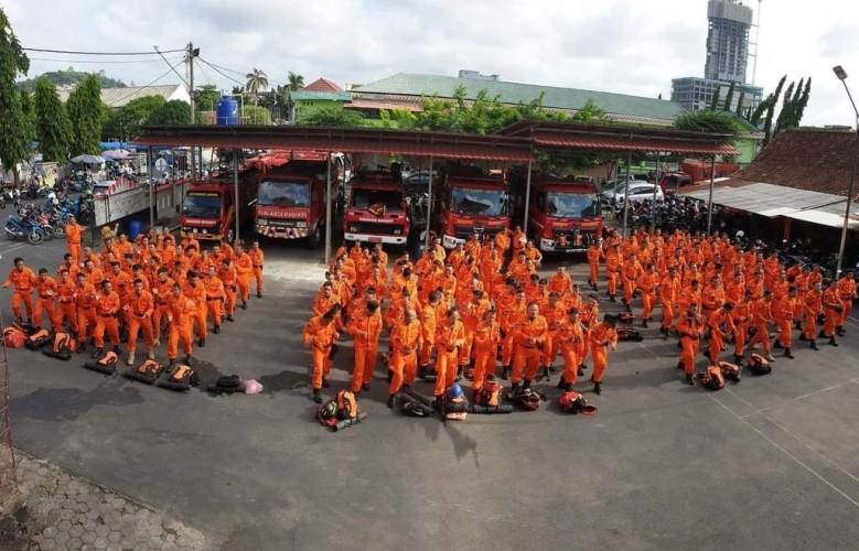 BPBD Laporkan Bandar Lampung Aman meski Diguyur Hujan Seharian