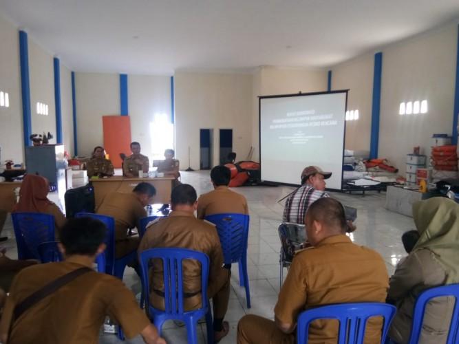 BPBD Pesisir Barat Gelar Rapat Koordinasi Pemberdayaan Warga Hadapi Resiko Bencana Alam