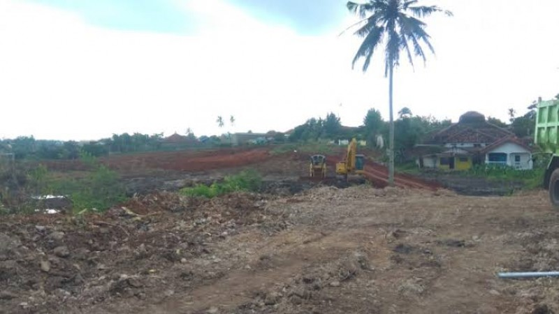 Kawasan Pembangunan Plaza Living Dipetakan Daerah Rawan Banjir