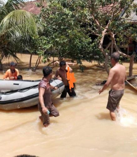 BPBD Tulangbawang Benarkan Balita 3 Tahun Meninggal Terseret Air Hujan