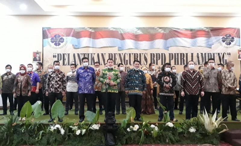 BPD PHRI Lampung Siap Majukan Pariwisata Lampung