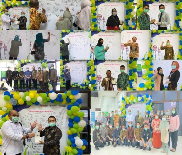 BPJamsostek Bandar Lampung Gelar Aksi Hari Kampanye Anti Korupsi 2020