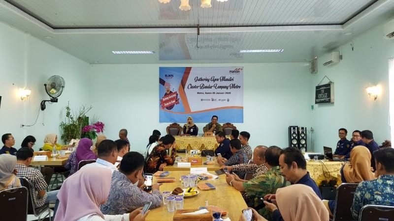 BPJamsostek Bandar Lampung Jaring Agen Bank Mandiri Jadi Peserta