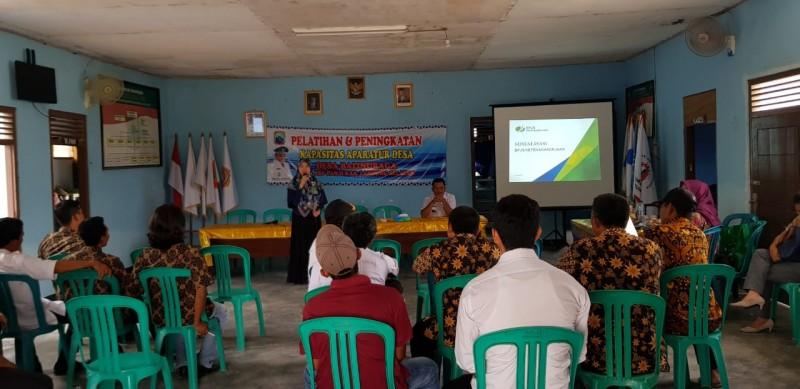 BPJamsostek Bandar Lampung Sosialisasikan Program Jaminan Sosial ke Aparatur Desa Balinuraga