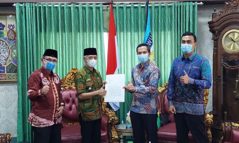 BPJamsostek Bangun Sinergisitas Mandat Inpres 2/2021 dengan Pemkab Pringsewu
