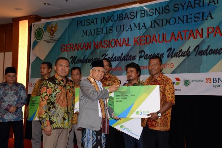 BPJamsostek Dukung Gerakan Nasional Kedaulatan Pangan bersama Pinbas-MUI