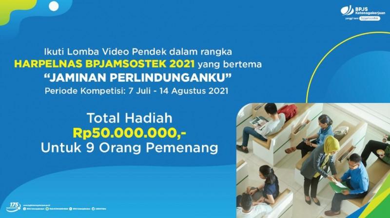 BPJamsostek Lamteng Ajak Peserta Berpartisipasi Ikuti Lomba Video Dalam Rangka Harpelnas