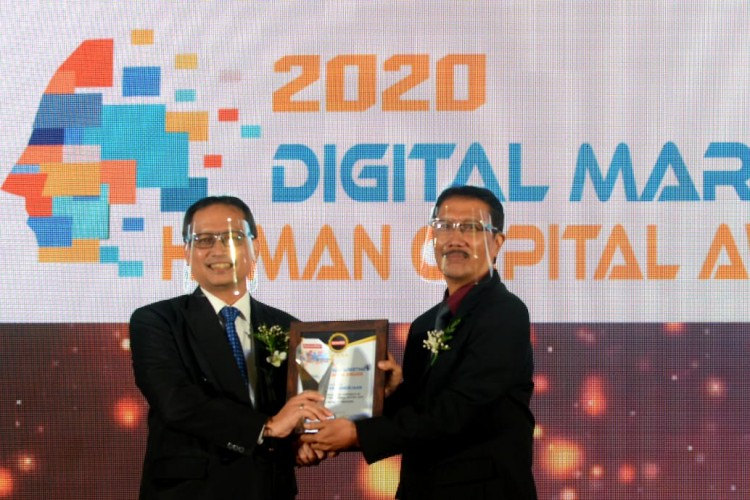 BPJamsostek Sabet 2 Penghargaan di Ajang Digital Marketing & Human Capital Award 2020