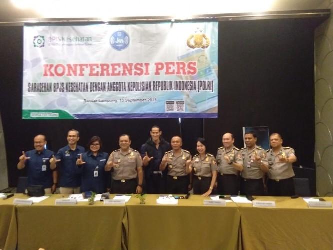 BPJS Kesehatan Gelar Supervisi dan Sarahsehan Bersama Polri