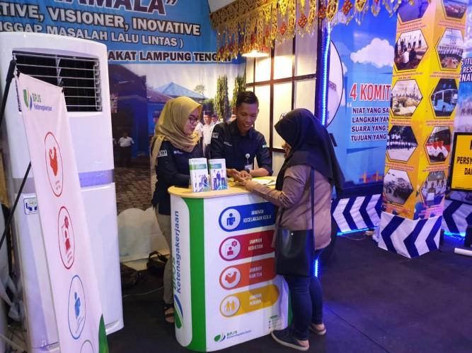 Bpjs Ketenagakerjaan Lampung Tengah Hadir Di Lampung Fair 2019