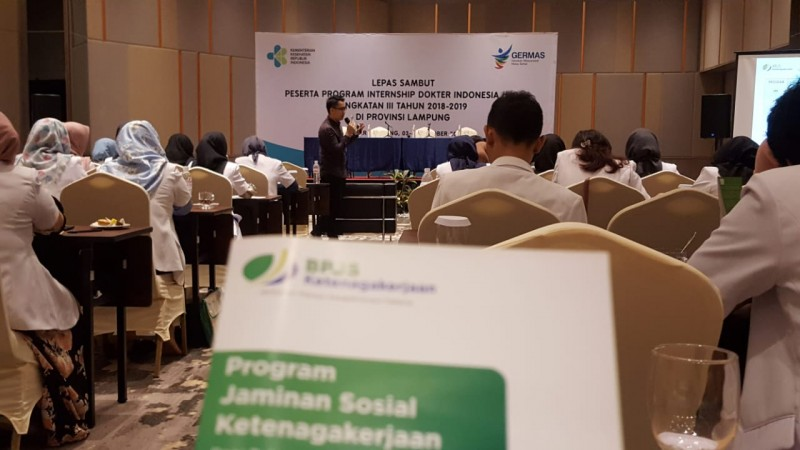 BPJSTK Sosialisasikan Program Jaminan Sosial ke Dokter Internsip