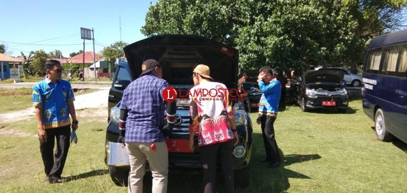 BPK Periksa Kendaraan Dinas Pemkab Pesisir Barat