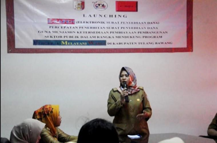 BPKAD Kabupaten Tulangbawang Terapkan E-Sapen