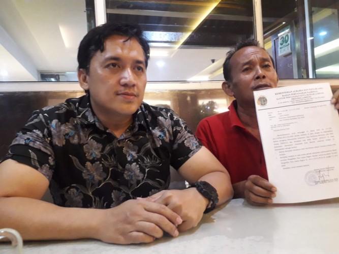 BPN Dituntut Cabut Surat Sesat dan Meminta Maaf ke Penggarap Lahan
