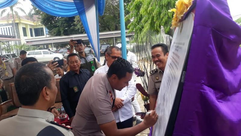 BPN Tulangbawang Canangkan Zona Bebas Korupsi
