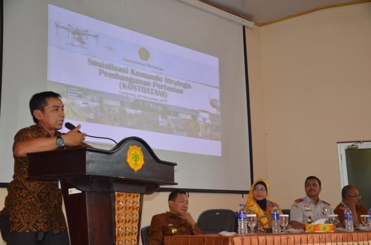 BPP Lampung Gelar Sosialisasi Kostratani Sebagai Jembatan Kesejahteraan Petani