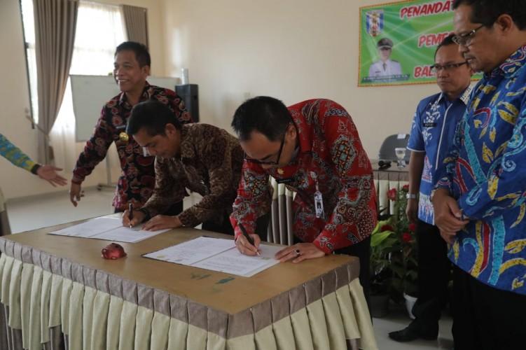 BPP Lampung-Pemkab Way Kanan Teken Kerja Sama Peningkatan SDM Pertanian