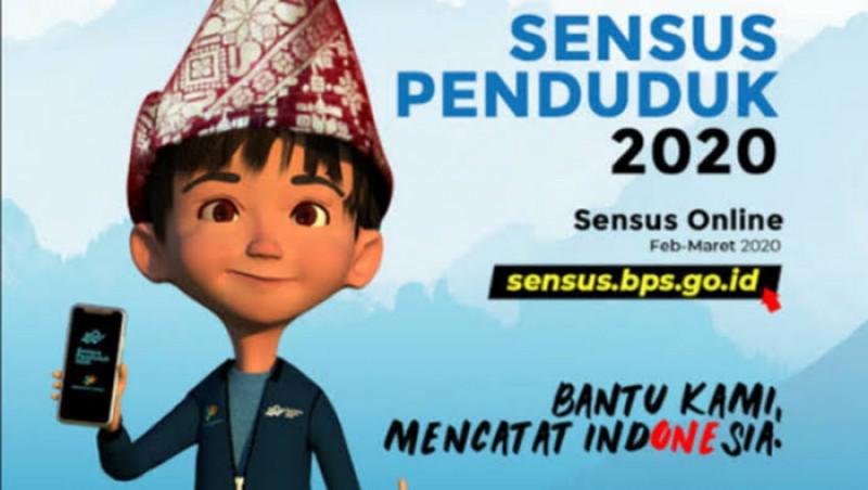 BPS Targetkan Sensus Online Dilakukan Seluruh Penduduk Lampung