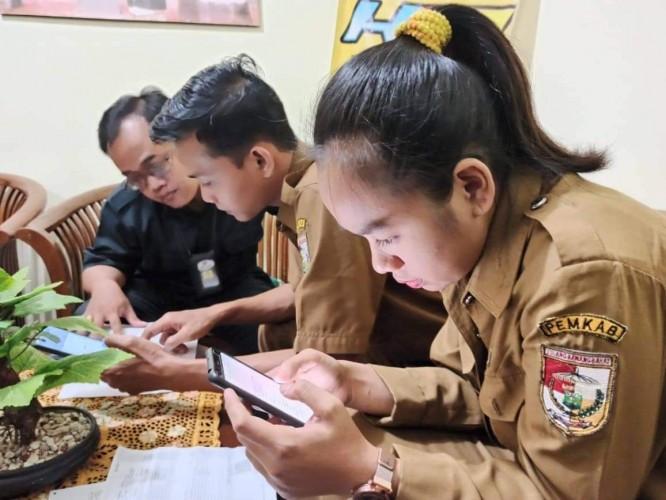 BPS Tubaba Sosialisasi Sensus Penduduk Online