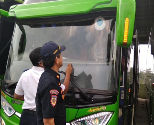BPTD Izinkan 70% Angkutan Nataru di Lampung-Bengkulu Beroperasi