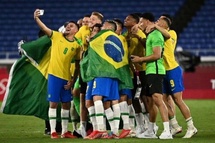 Brasil Juara Sepak Bola Putra Olimpiade Tokyo