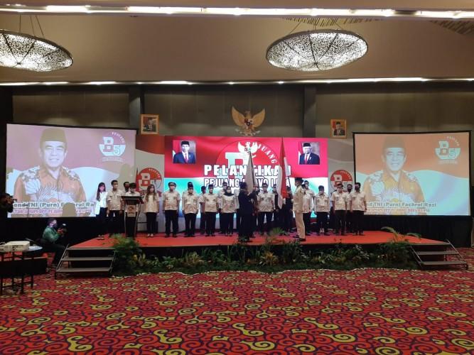 Pengurus Bravo 5 Lampung Dikukuhkan
