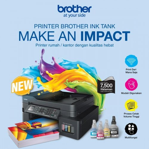 Brother Printer Tawarkan Promo Menarik Sambut Back to School