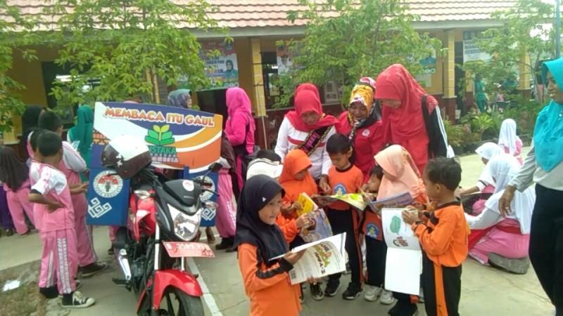 Budayakan Gerakan Membaca, Himpaudi Penengahan Rutin Sambangi PAUD