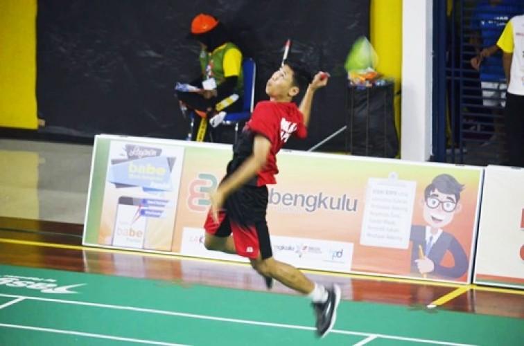 Bulu Tangkis Beregu Putra Porwil Lampung Genggam Tiket PON