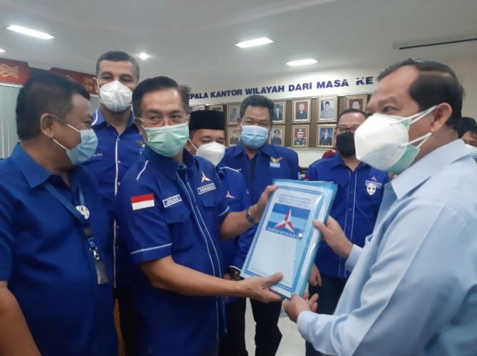 Buntut KLB, Demokrat Lampung Datangi Kemenkumham