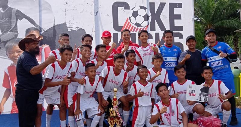 BUP Juarai Turnamen Coke Kicks 2019 Seri Lampung