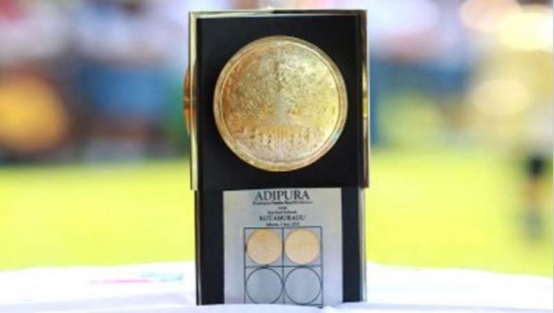 Bupati Lambar Jemput Piala Adipura ke-5