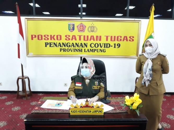 Bupati Lamteng Loekman Djoyo dan Istri Positif Covid-19 Usai dari Jakarta