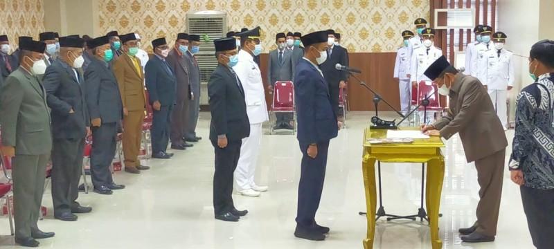 Sejumlah Pejabat di Mesuji Dirotasi