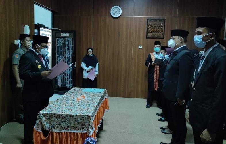 Bupati Mesuji Mutasi 282 Pejabat