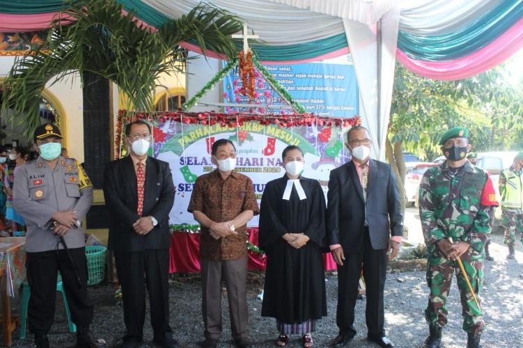 Bupati Pastikan Natal di Mesuji Aman