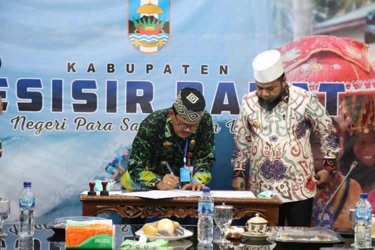 Bupati Pesisir Barat Terima Kunker Wali Kota Bengkulu