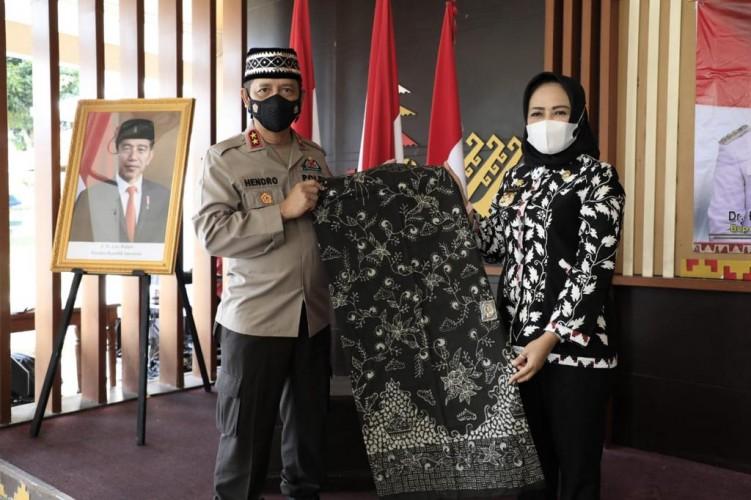 Bupati Tuba Sambut Kunjungan Kapolda Lampung