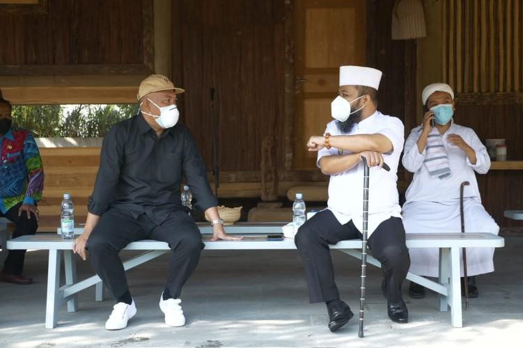 Bupati Umar Ahmad Sambut Kunker Wali Kota Bengkulu