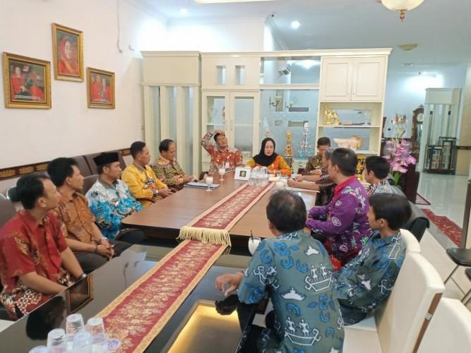 Bupati Winarti Silaturahmi Dengan FKUB