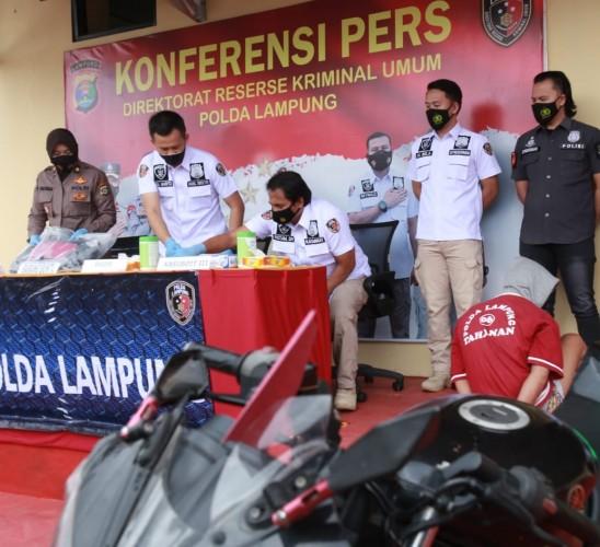 Buronan Jambret yang Tewaskan Nenek di Bandar Lampung Ditangkap