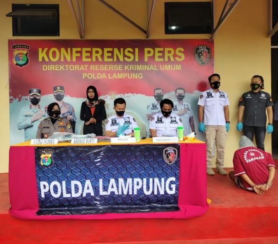 Buronan Penjambret Nenek Susiwati Berlumuran Kasus di Bandar Lampung