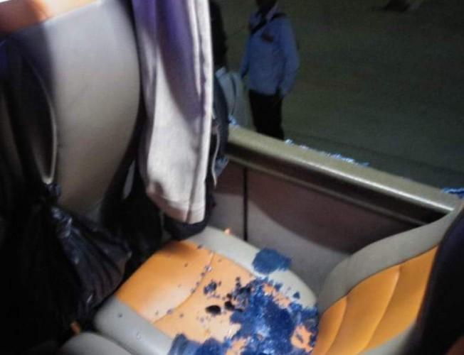 Bus Jurusan Cirebon-Palembang Dilempar Busi Saat Melintasi Tol