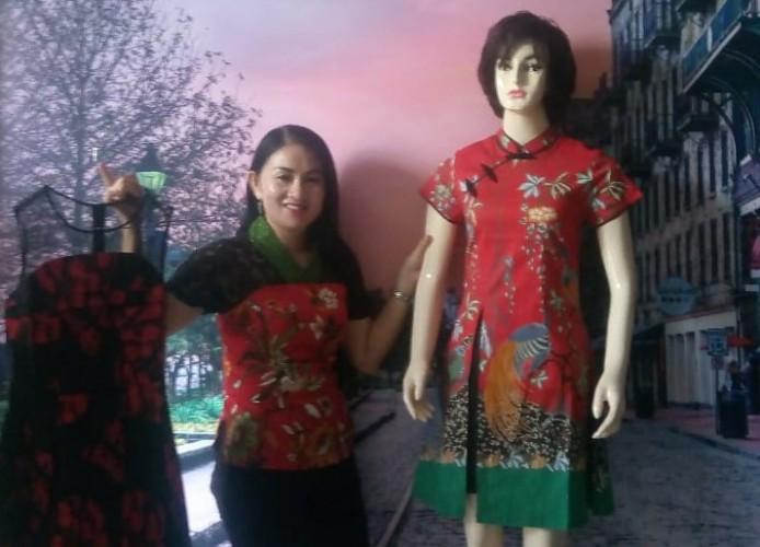 Butik Blessing Tawarkan Batik Chongsam