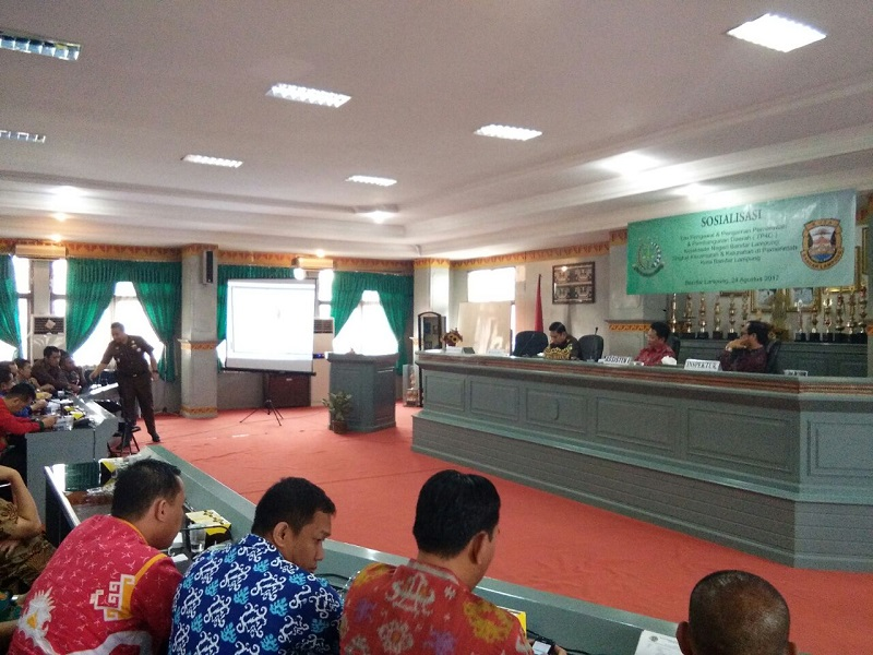 Kejari Bandar Lampung Sosialisasi TP4D